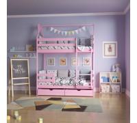 Кроватка-домик «Двухъярусная»