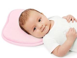 Ортопедическая подушка для новорожденных: размеры